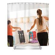 Dance Class For Women Shower Curtain