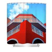 11- Deco Sky Shower Curtain
