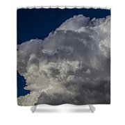 First Nebraska Storm Chase 2015 Shower Curtain