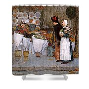 Hassam Shower Curtain