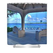 11- Lake Worth Inlet Shower Curtain
