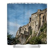 Le Mont Saint Michel Shower Curtain