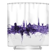 Newcastle England Skyline Shower Curtain