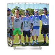 Play For Parkland  Shower Curtain