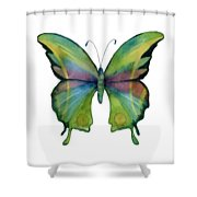 11 Prism Butterfly Shower Curtain