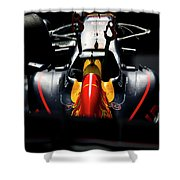 Red Bull Formula 1 Shower Curtain