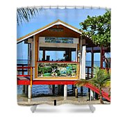 Roatan Life Shower Curtain
