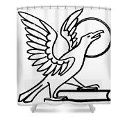 Saint John Shower Curtain