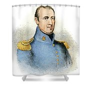 Sam Houston, 1793-1863 Shower Curtain