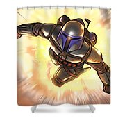 Star Wars Poster Art Shower Curtain