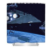 Star Wars The Poster Shower Curtain