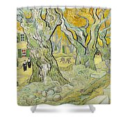 The Road Menders Shower Curtain
