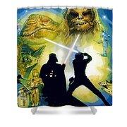 The Star Wars Art Shower Curtain