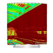 Train Station Series Shower Curtain