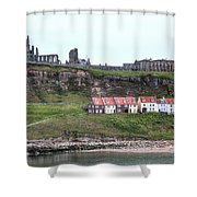Whitby - England Shower Curtain