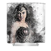 Wonder Woman Shower Curtain