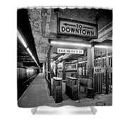 110th Street And Lenox Avenue Station - New York City Shower Curtain