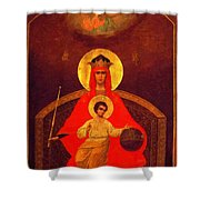 Mary And Child Shower Curtain