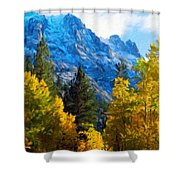 Nature Art Landscape Canvas Art Paintings Oil Shower Curtain