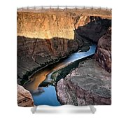 1118 Down River Shower Curtain