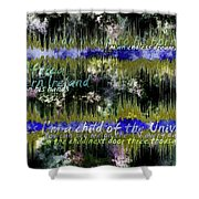 11362 Child Of The Universe With Lyrics By Barclay James Harvest Shower Curtain
