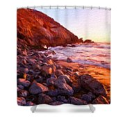 Nature Cool Landscape Shower Curtain