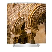 Alcazar Of Seville - Seville Spain Shower Curtain