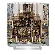 12 Apostles Altar - Rothenburg Shower Curtain