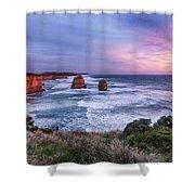 12 Apostles At Sunset II Shower Curtain