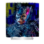 Catwoman Shower Curtain