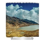 Elephant Lake, Kupup Valley, Sikkim, India Shower Curtain