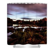 Elkton River Shower Curtain