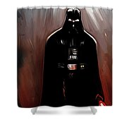 Empire Star Wars Poster Shower Curtain