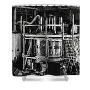 12 Foot Liquid Hydrogen Bubble Chamber Shower Curtain