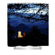 Jamnik Church Of Saints Primus And Felician Shower Curtain