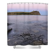 Kimmeridge Bay In Dorset Shower Curtain