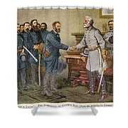 Lees Surrender 1865 Shower Curtain by Granger