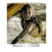 Megan Fox Collection Shower Curtain