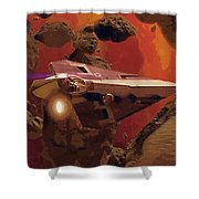 Movies Star Wars Poster Shower Curtain