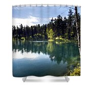 Nature Scene Shower Curtain