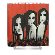 No Name  Shower Curtain