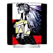 The Cape  Picasso Shower Curtain