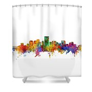 Richmond Virginia Skyline Shower Curtain