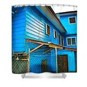 Roatan/house Shower Curtain