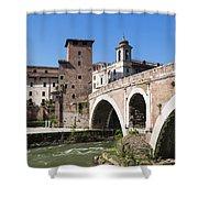 Rome, Italy Shower Curtain