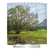 Sigiriya - Sri Lanka Shower Curtain