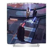 Star Wars Characters Art Shower Curtain