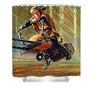 Star Wars Episode 2 Poster Shower Curtain