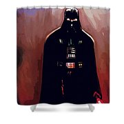 Star Wars Episode 5 Poster Shower Curtain