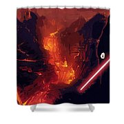 Star Wars Episode Poster Shower Curtain